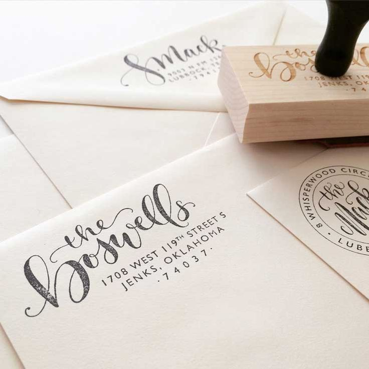 how to return address wedding envelopes%0A Find this Pin and more on   PAPER  u     MAIL    Custom HandLettered Return  Address
