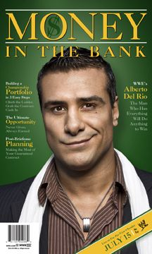 ADR Alberto Del Rio. Whomever is in charge of making WWE PPV posters need a raise
