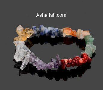 Natural stone mix bracelet boho style