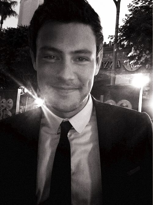 Cory Monteith/ He was one of my favorites on Glee...music is my life and I've listened carefully to a lot of male vocalist in my time and I really loved his voice...I thought he was so good. RIP Cory.