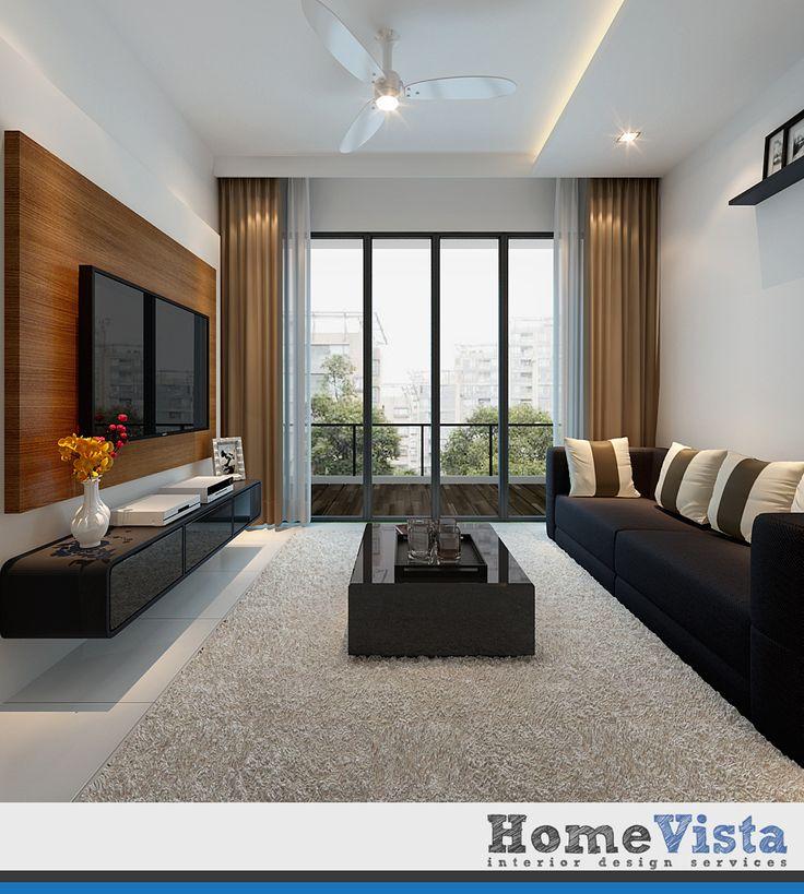 Living room feature wall design singapore for U home interior design