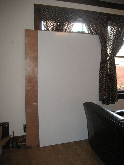 Cheap Whiteboard DIY $30