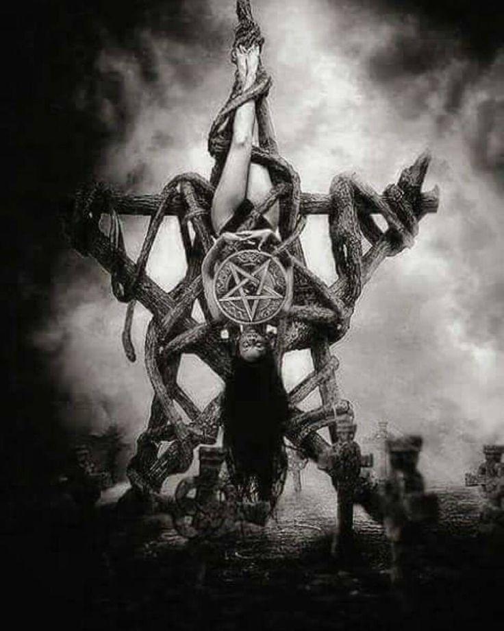 Pin by B on Satanic art | Satanic art, Evil art, Occult art