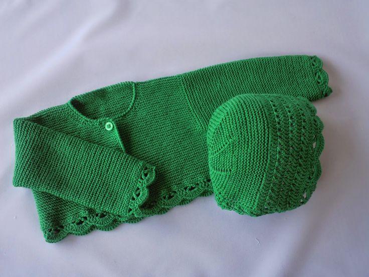 Llegados el verano y el calor hay que pensar en tejidos más frescos.   El algodón es ideal para el punto del verano
