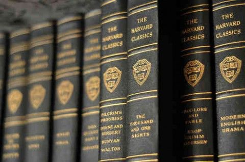 Harvard Classics: During his days as Harvard's influential president, Charles W. Eliot made a frequent assertion: If you were to spend just 15 minutes a day reading the right books, a quantity that could fit on a five foot shelf, you could give yourself a proper liberal education. Free ebooks for the set