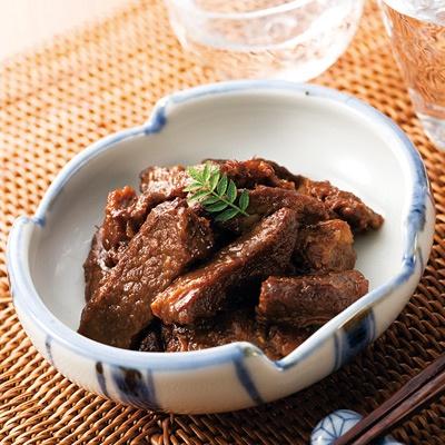 ☆岩手の前沢牛しぐれ煮☆ 冷た〜い冷酒かなんかキュ!って飲るとしやゎしぇ〜(笑) iwate maezawa beef