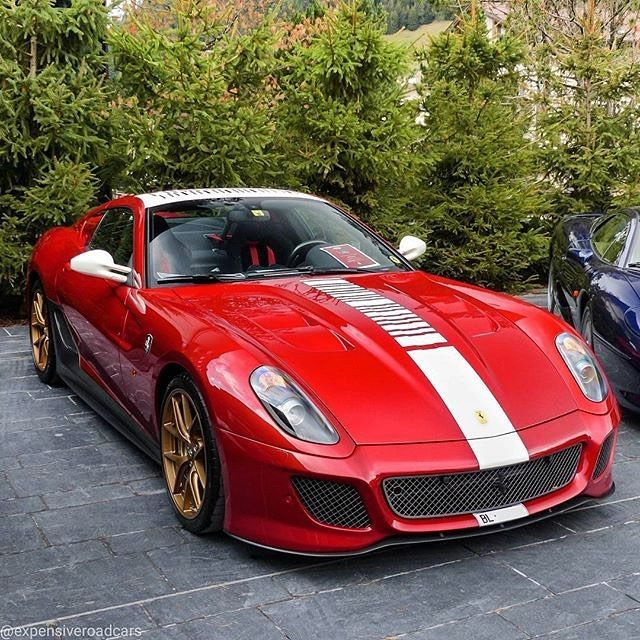 Ferrari 599: 91 Best Rosso Corsa Ferrari Images On Pinterest