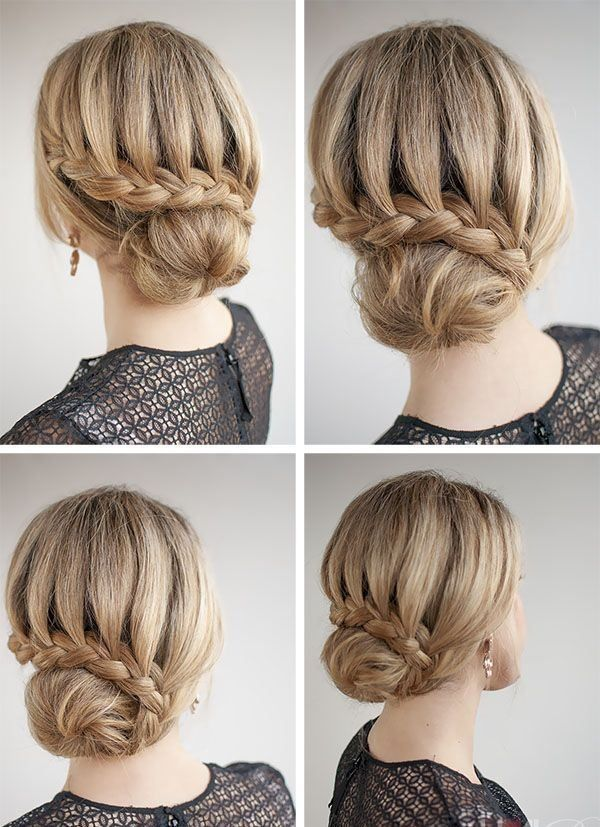 making hair styles 1000 ideas about easy bun hairstyles on hair 4689 | dfbee8145b7f860c847b2a098f7a0f1a