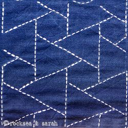 sashiko lesson 2 » Sarah's Hand Embroidery Tutorials. EXCELLENT!! (Can access lessons 1 - the end with this link)