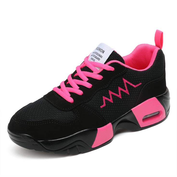 ==> [Free Shipping] Buy Best 2017 New Sport Shoes Woman Walking Jogging Sneakers Mesh Women Trainers Breathable Athletic Shoes Cheap Ladies Trainers Black Online with LOWEST Price | 32812311326