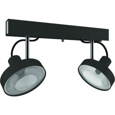 Moderní stropní svítidlo CROSS GRAPHITE 10H6957