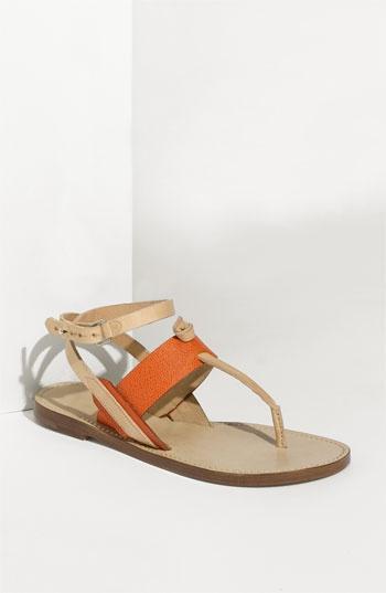 rag & bone 'Sigrid' Sandal: Sandals So Unique, Summer Sandals, Sandals Shoes, Rag Bones, Sandals Sandalia, Sigrid Sandals, Bones Sigrid, Bones Sandals So, Orange Flats