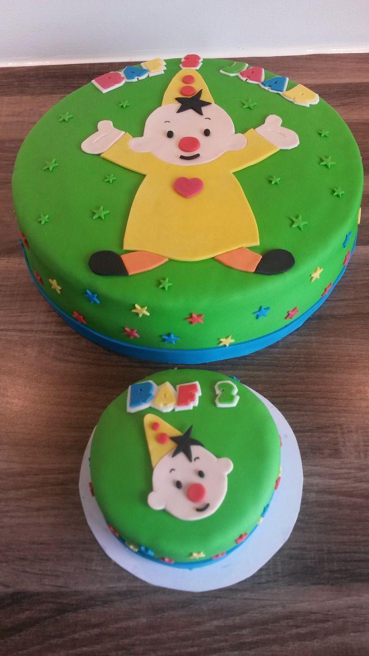 Bumba taart met meptaartje / Bumba cake with small smash cake