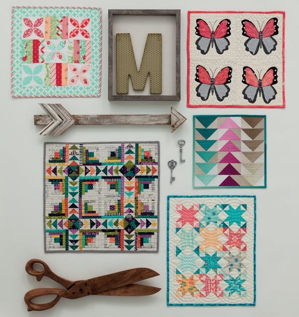 7 Creative Ways to Hang a Quilt on the Wall | Quilts from Moda All-Stars: Mini Marvels