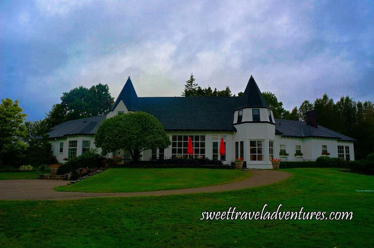 The Kingsbrae Garden Café and Savour in the Garden Restaurant in St. Andrews-by-the-Sea, New Brunswick