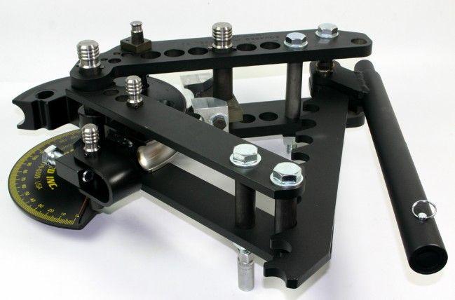 JD SQUARED MODEL 32 MANUAL RATCHET TUBE BENDER INC DEGREE RING & HANDLE