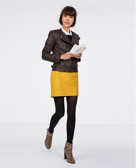 Straight skirt. | Skirts | Comptoir des Cotonniers 95 £