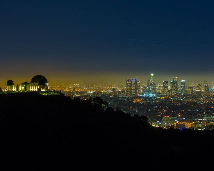 """Fine Art Photography """"Observing LA"""" Griffith Observatory California landscape prints by TabcumGallery on Etsy https://www.etsy.com/listing/187884708/fine-art-photography-observing-la"""