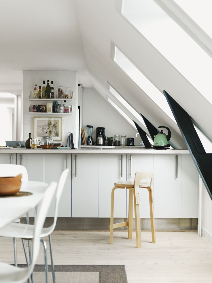 Take A Page From The Nordic Kitchen And Go For A Minimalistic Look That Incorporates Fine Lines And Simplistic Design Instead Of Art On The Walls