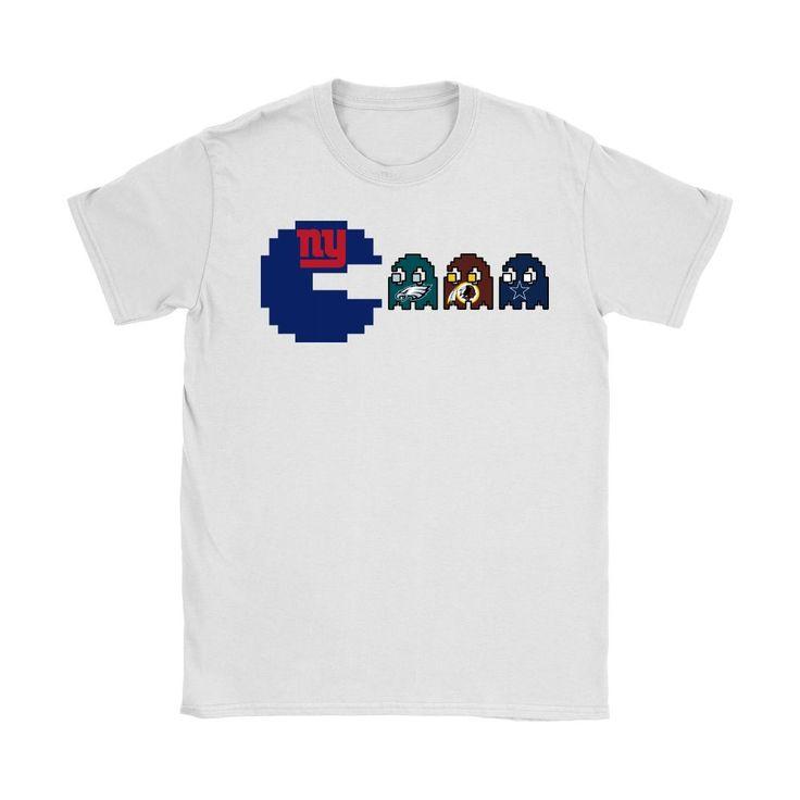 Pacman - American Football New York Giants Shirts #AmericanFootball