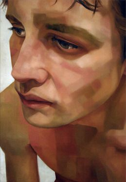 Sara Zion #Art #Painting #Man #Face