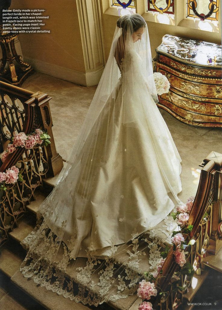 Emily MacDonagh Sassi Holford Wedding Dress