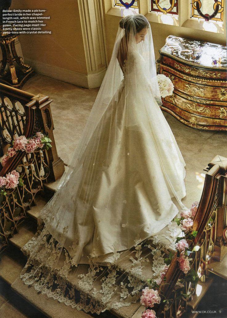 Emily MacDonagh Sassi Holford Wedding Dress