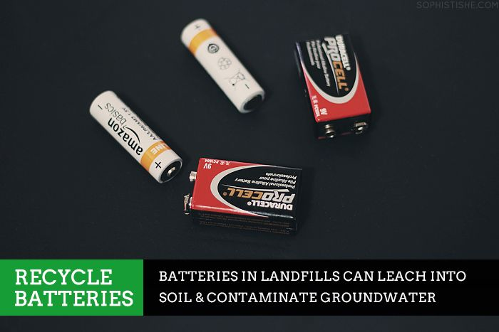 #30GreenDays: How to Recycle Batteries via Sophistishe.com