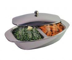 Vas cu capac Vegetable Dish Double