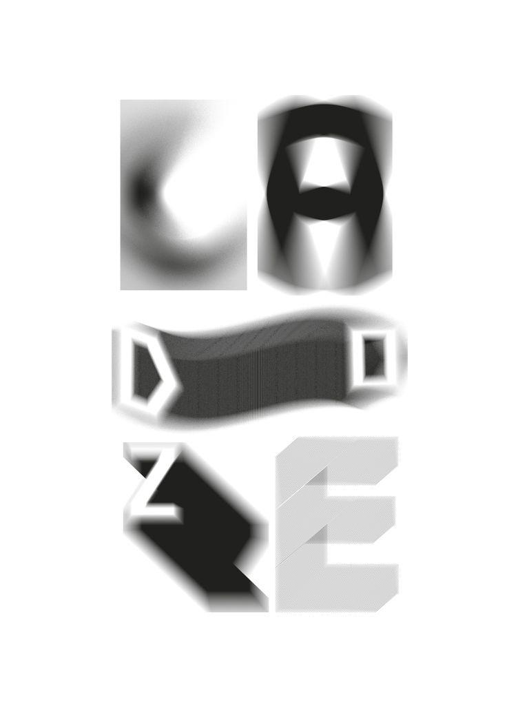 Ladoze typographic poster!