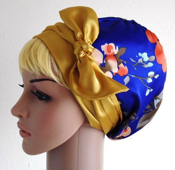 Head SnoodTichel Head Scarf  Headscarf Curly by accessoriesbyrita, $24.00