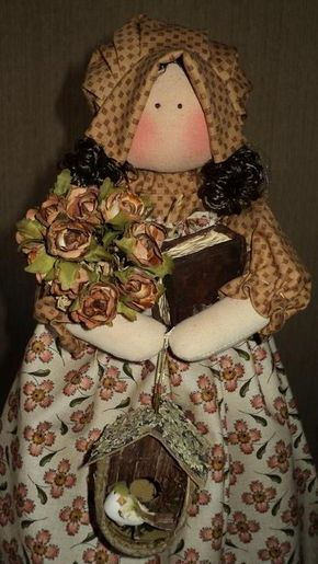 Muñecas de tela de Millyta Vergara | EcoArtesanias