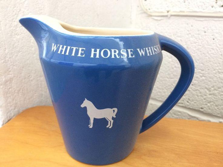 Wade White Horse Whisky Water Jug #WaterJug