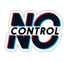 One Direction No Control #1 Sticker