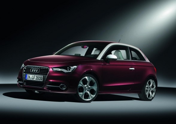 2010 Audi A1 Fashion Aubergine Worthersee Tour