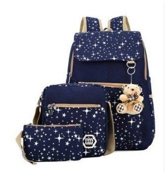 2016 Women Backpack School Bags For Teenagers Girls Rucksack Backpacks Mochila Printing Bookbag Cute Back Pack