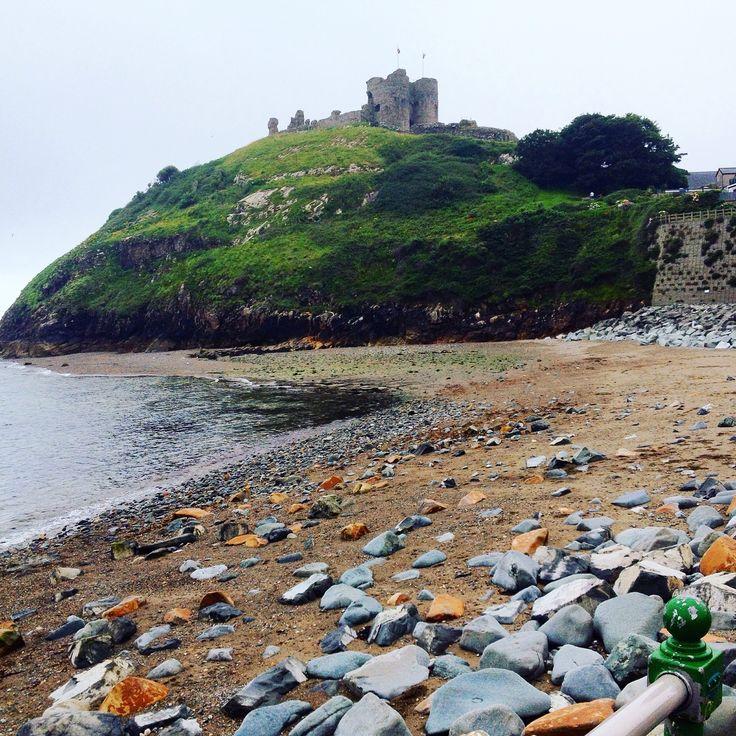 Criccieth beach, North Wales