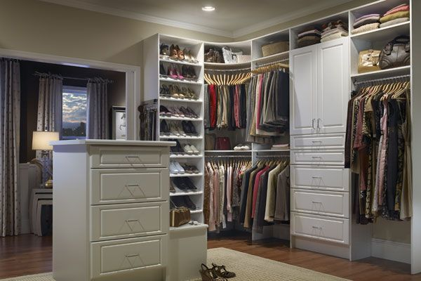 Walk in closet on Pinterest | Closet Designs, Closets and Walking ...