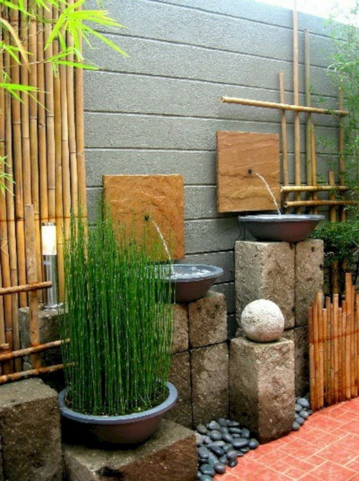 DIY Arizona Backyard Landscaping Design | Mini zen garden ...