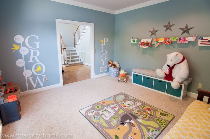 Living Room Turned Playroom | Playrooms, Project nursery and Nursery