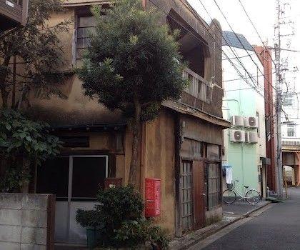 東京都玉の井:玉の井銘酒街6「テラスのあるカフェー建築」 – 遊郭部