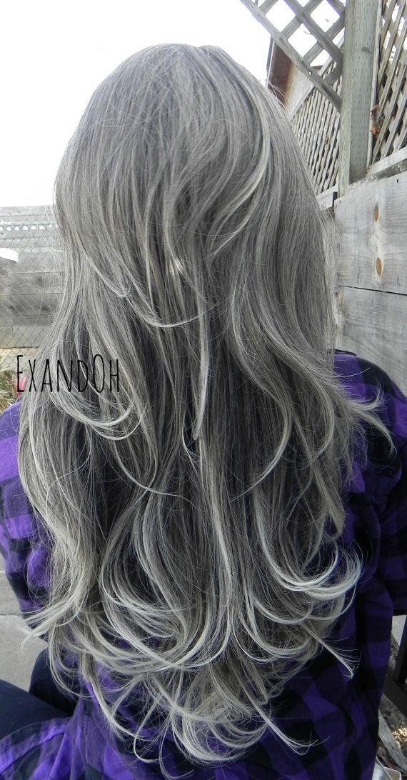 Astonishing 281 Best Images About Grey Hair On Pinterest Models Long Gray Short Hairstyles For Black Women Fulllsitofus