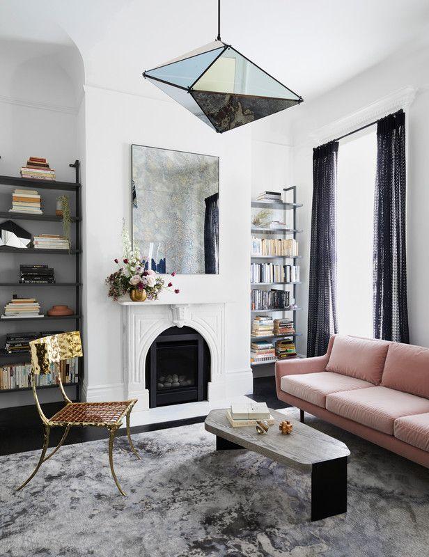 How To Decorate With Metallics Mixed Metals Home Decor Living Room Inspiration Interior Design Living Room Decor