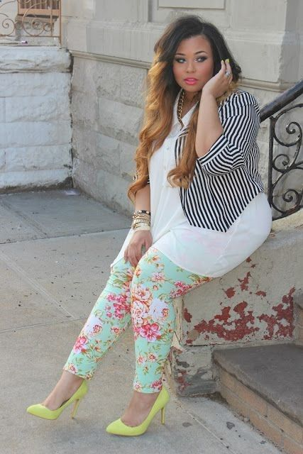 Girl's night out fashion for the plus size curvy woman who enjoys a little style with her fashion.  #plussize  #fullfigure #fashion @hpman