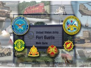 Fort Eustis Main Gate, Newport News, Virginia