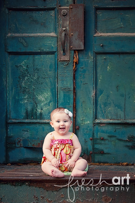 Great door in background. Photo by: Fresh Art Photography: Baby Inspiration, Baby Photographers, Art Photography, Kids Baby, Baby Pictures, Months Years Photos, Girls Baby, Photography Baby, Photography Inspiration