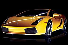 At $175,000 for the hardtop and $195,000 for the roadster, the Gallardo stretches the $200,000 budget.