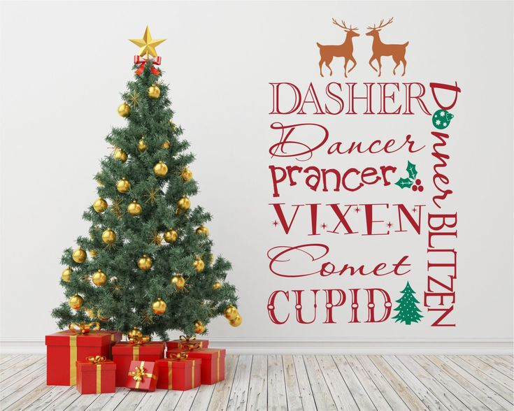 Best Christmas Vinyl Wall Decal Images On Pinterest Christmas - Custom vinyl wall decals christmas