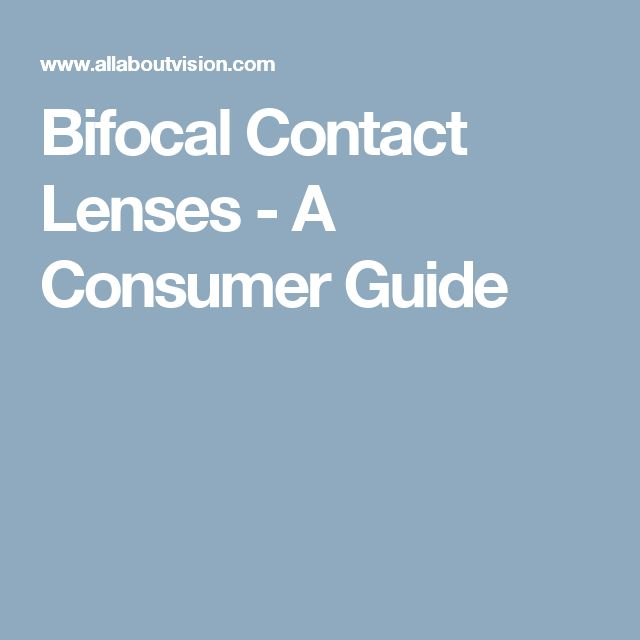 how to buy bifocal contact lense