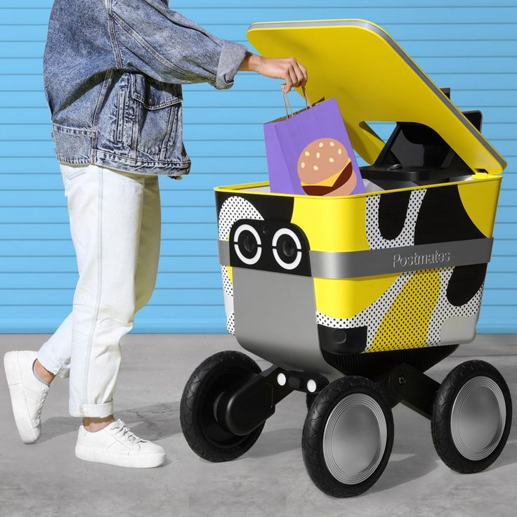 """Postmates' delivery robot Serve is designed to be """"lovable"""